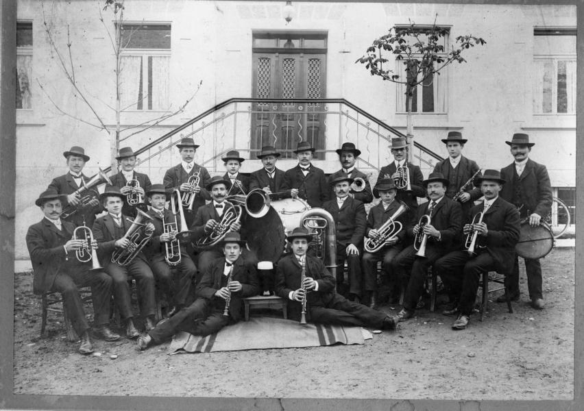 Anfangsjahre Musikverein Grünkraut