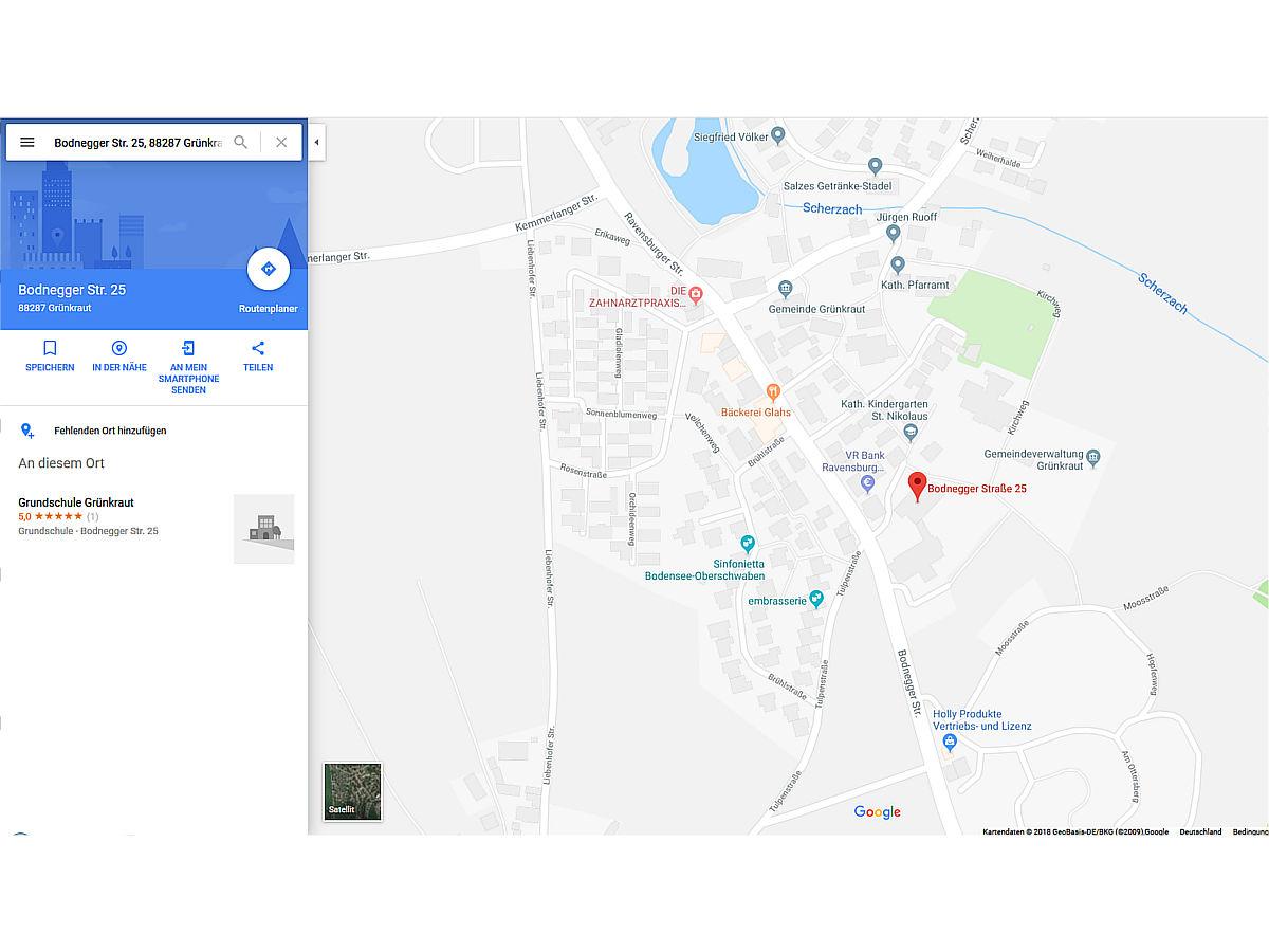 Anfahrt Probelokal / Festhalle