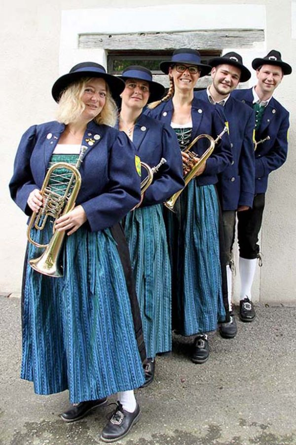 Flügelhorn Register Musikverein Grünkraut
