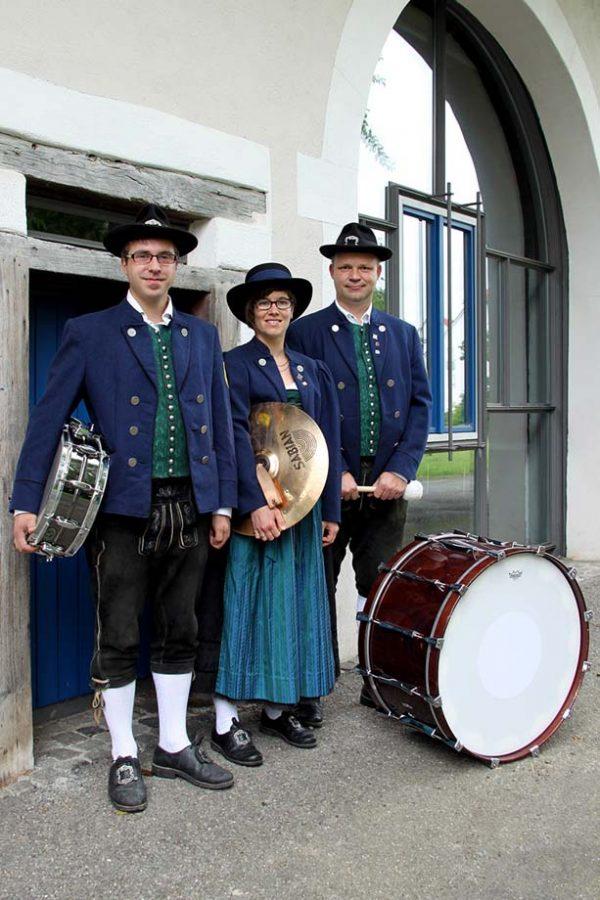 Schlagzeug Register Musikverein Grünkraut