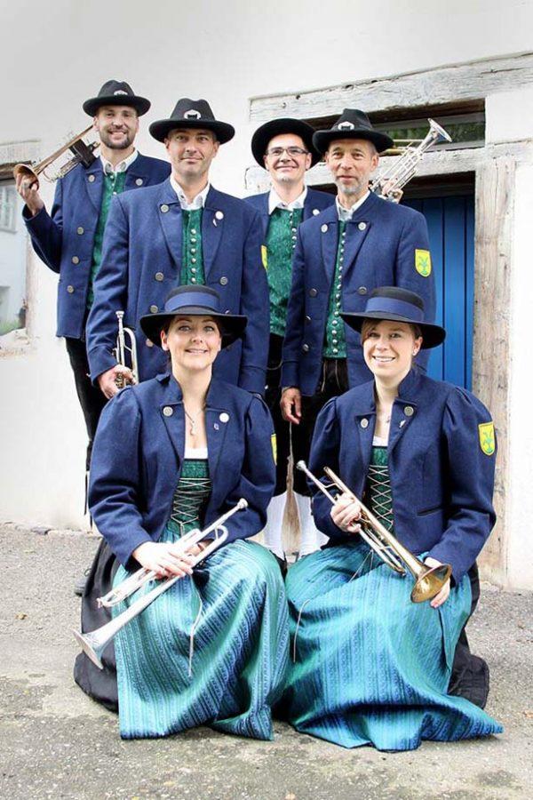 Trompeten Register Musikverein Grünkraut