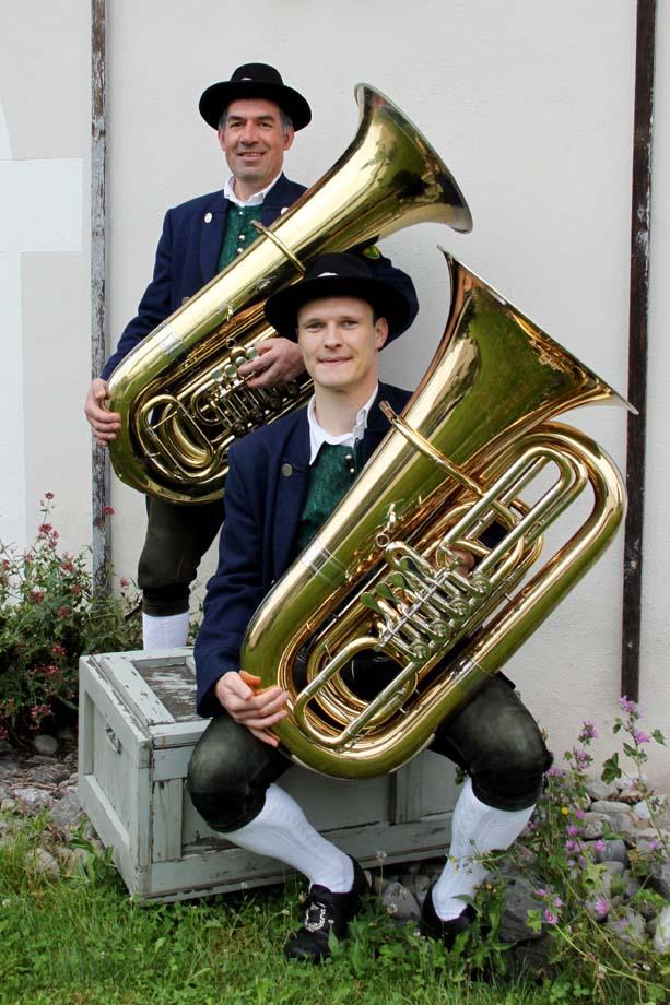 Tuba Register Musikverein Grünkraut