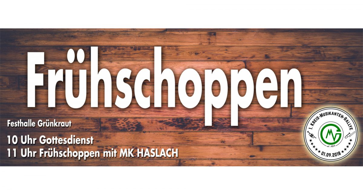 Kreis Musikanten Rallye Frühschoppen