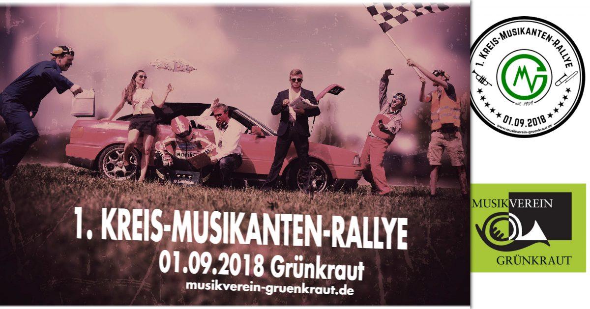 Kreis Musikanten Rallye Ablauf